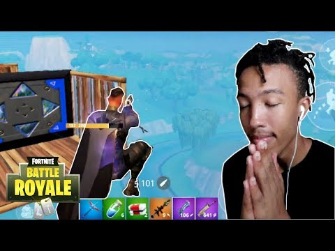 i went for a hand cannon trick shot * fortnite mobile