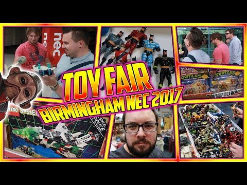 Toy Fair Birmingham NEC 2017 VLOG