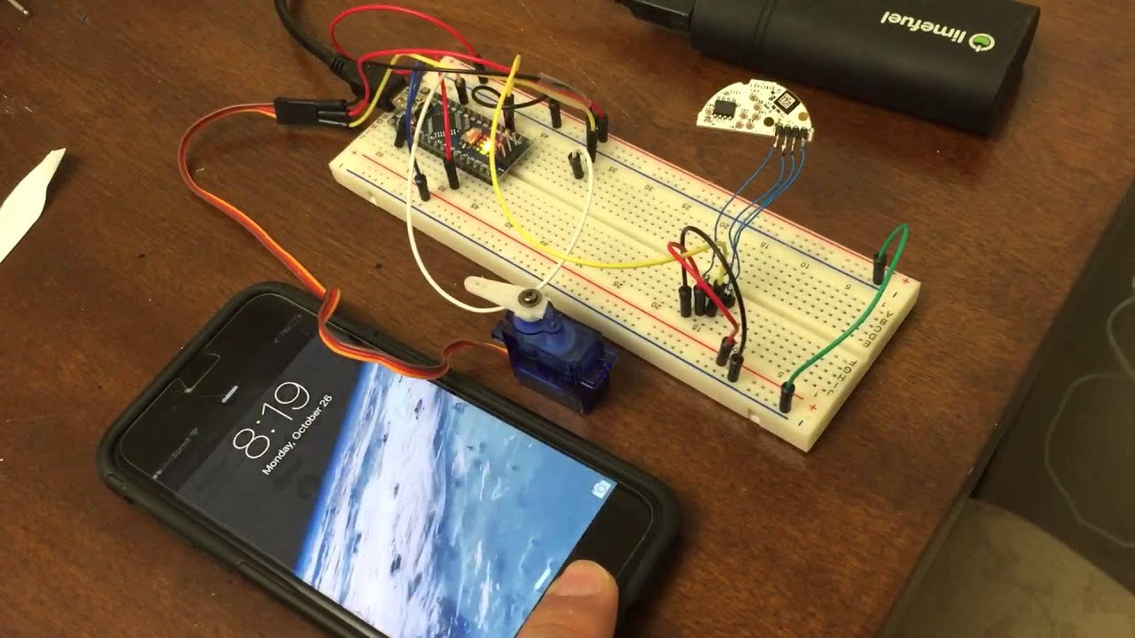 Home Automation Project Patio Door Lock Using Smart