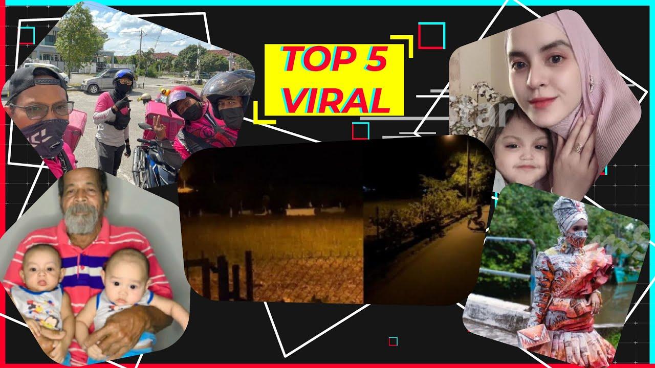 Top5 Viral: Budak 5 tahun main basikal tepi kubur pukul 2.30 pagi, rider baik hati bantu warga emas