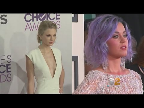 Thumbnail: Feud Between Katy Perry And Taylor Swift Heats Up