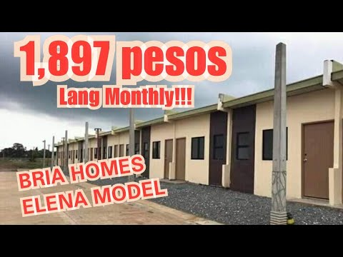 Elena Row House @Bria Homes Bigte, Norzagaray, Bulacan