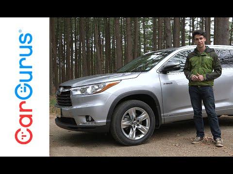 2016 Toyota Highlander Hybrid   CarGurus Test Drive Review