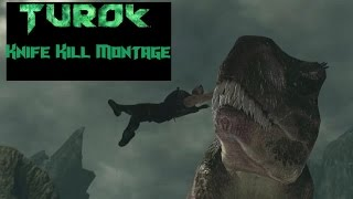 Turok - Dinosaur Knife Kill Compilation/Montage  | PC / HD |