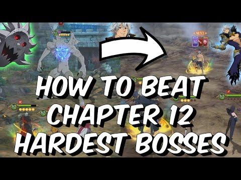 How To Beat Chapter 12 Hardest Bosses - Gray Demon, Estarossa & More! Seven Deadly Sins: Grand Cross