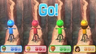 Wii Party U - All Survival Minigames