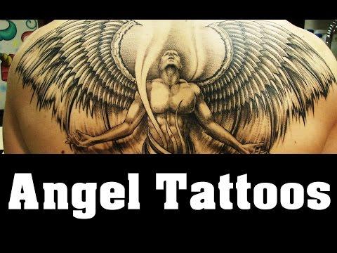 Angels Tattoos Design Idea