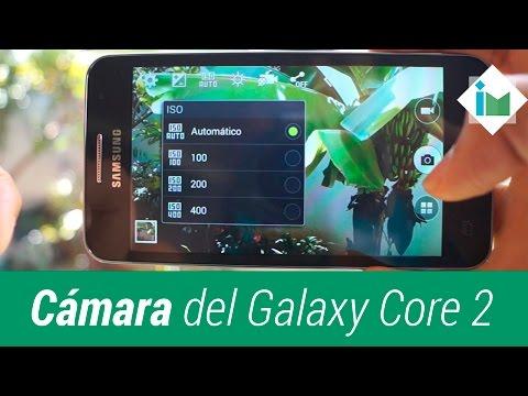 Cámara del Samsung Galaxy Core 2