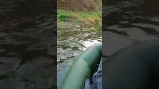 Экстремальная рыбалка с другом