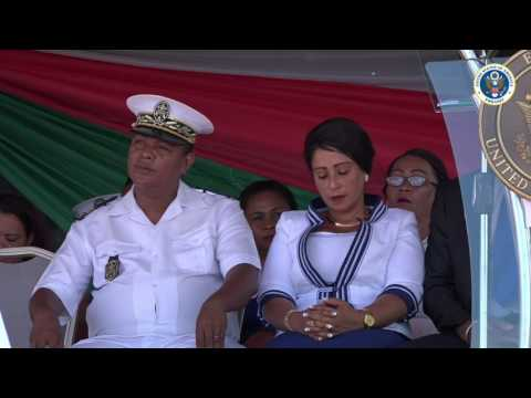 2017, United States Gives 38' Metal Shark Boat to Malagasy Navy