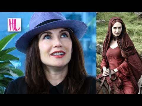 ‪Game of Thrones 'Melisandre' Carice Van Houten‬ Interview