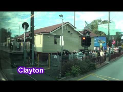 Caulfield - Dandenong on a V/Line N Class: Melbourne Transport