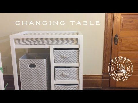 Changing Table (Desert Alchemy Design)