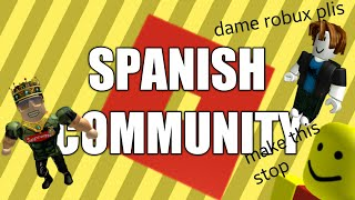 The Spanish ROBLOX Community