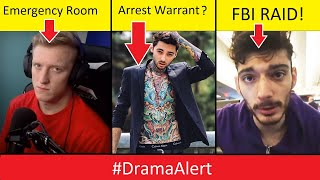 Romeo Lacoste ARREST WARRANT? #DramaAlert FaZe Tfue Rushed to Emergency Room! FBI RAID on ICE!