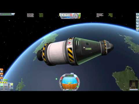 Look at my first orbital rocket :-)