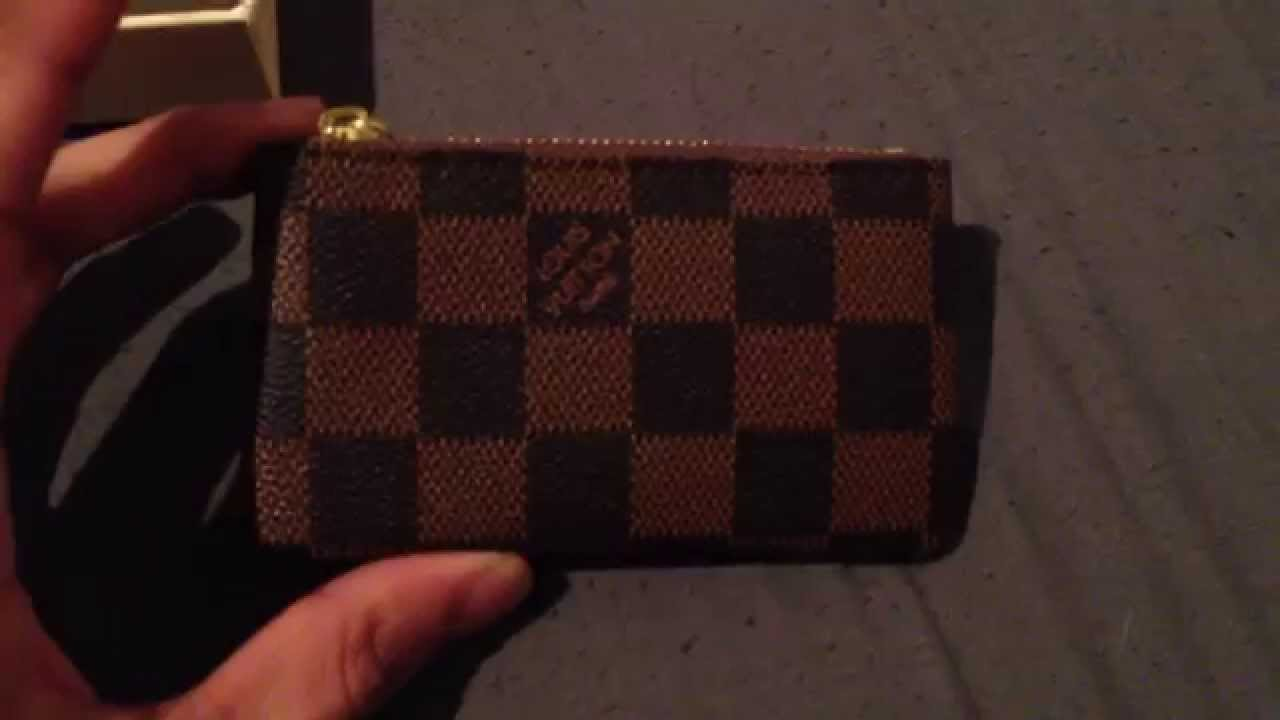 38e484b7ab9ffb Louis Vuitton Ebene Coin Pouch / Aliexpress Unboxing #1 - YouTube