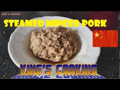 Cantonese steamed minced pork