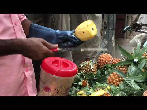 Pineapple Masala। আনারস মাখা। Street Food of bd। Nams Vlog