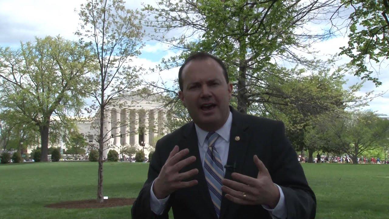 Senator Lee Reacts To Oral Arguments For Supreme Court -7289