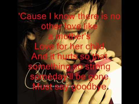 Celine Dion- GoodbyesThe saddest word