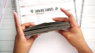 Sinking Funds Savings Amount!   Cash Envelopes