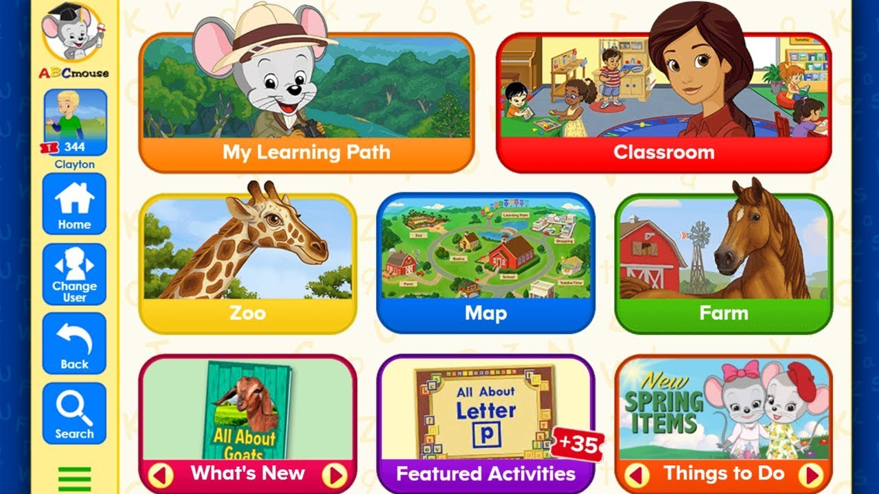 ABC MOUSE 3 MONTHS FREE