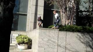 Skateboarding - 5 foot drop first attempt
