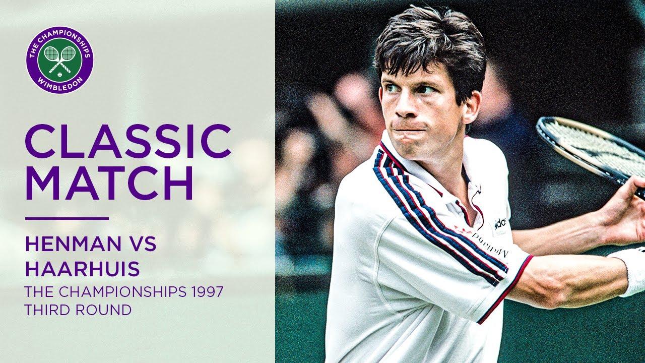Tim Henman vs Paul Haarhuis | Wimbledon 1997 third round | Full Match -  YouTube