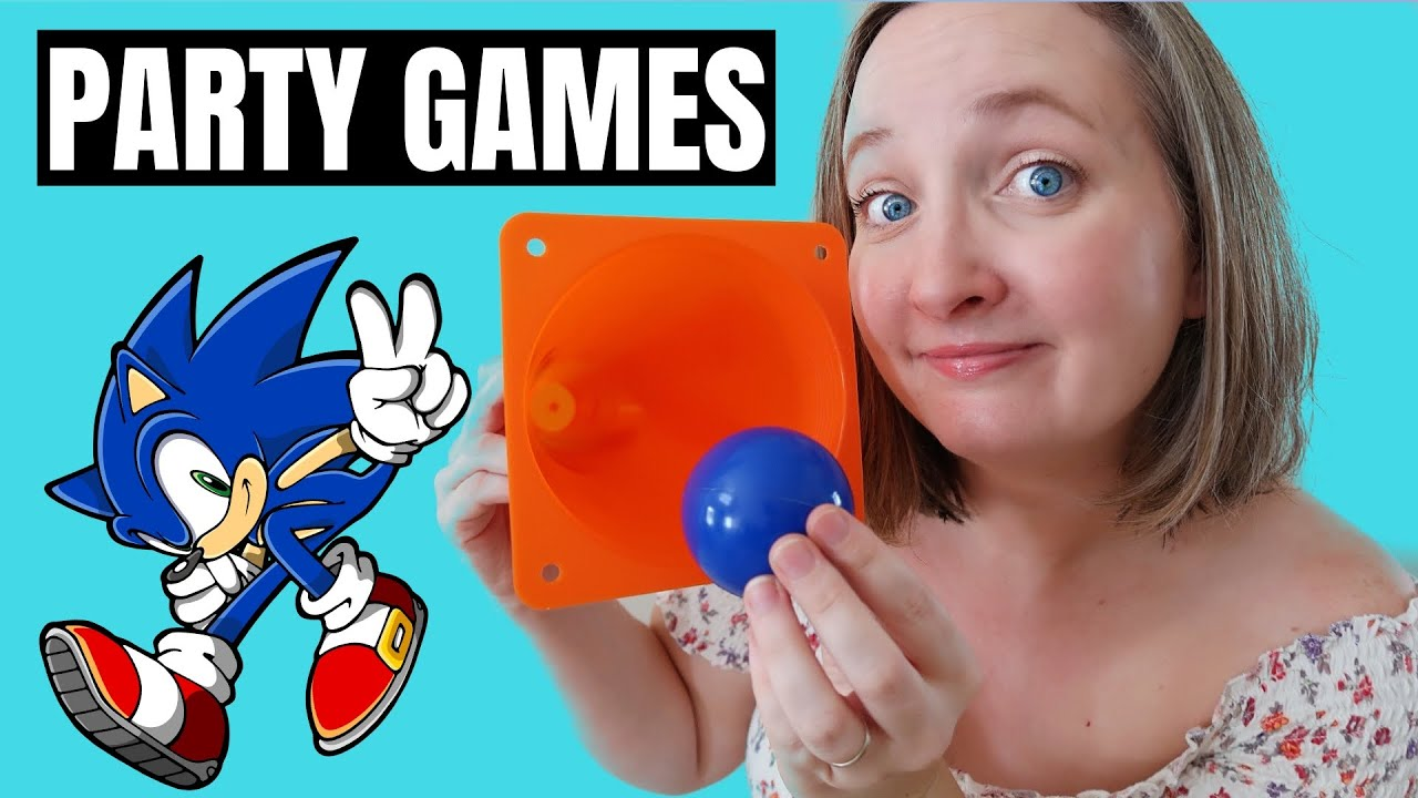 3 Sonic The Hedgehog Birthday Party Games Every Kid Will Play Youtube