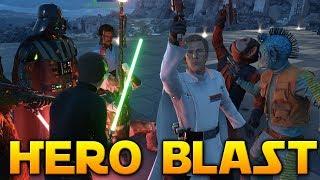FIRST HERO BLAST GAMEPLAY (Mod) - Star Wars Battlefront