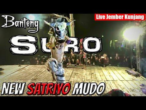 Banteng Suro Super Ganas Duel dng Penonton !!!--SERU---GALAK--New Satriyo Mudo Live Jember Kunjang