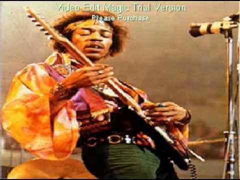 Jimi Hendrix - manic depression guitar backing track
