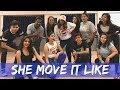 SHE MOVE IT LIKE-BADSHAH | Mumbai Workshop | Anrene Lynnie Rodrigues Choreography