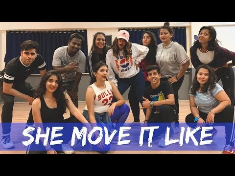 SHE MOVE IT LIKE - BADSHAH | WARINA HUSSAIN | ONE | Mumbai Workshop | Anrene Lynnie Rodrigues