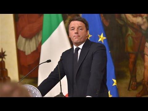 Italian Prime Minister Renzi Announces Intention to Resign