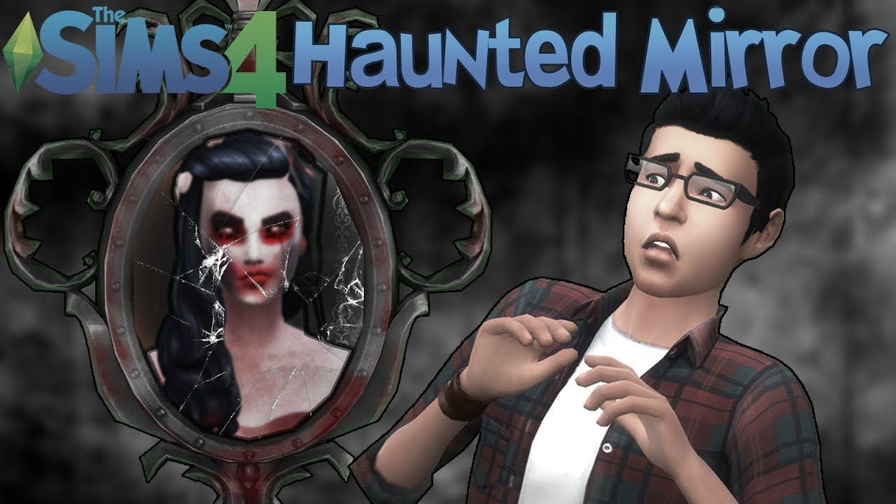 The Sims 4: The Haunted Mirror (Mod Showcase) #1