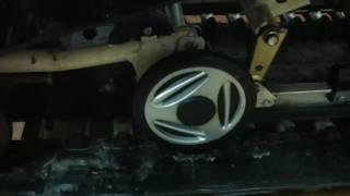 снятие задней подвески на Армейце,Тайга,Стелс и т д(Removing the rear suspension on the BRP)
