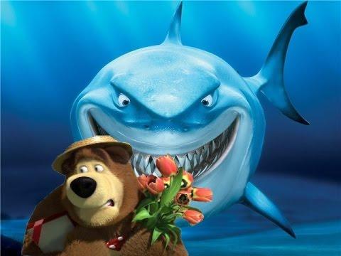 Маша и Медведь  Миша ловит Рыбку  Новые серии Маша и Медведь 2015  Игра  Уровень 7