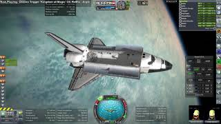 Kerbal Space Program - Shuttle-Constructed Mars Mission 05