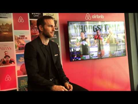 Joe Gebbia launches Airbnb Experience in Bangkok with Muay Thai (Press Conference)