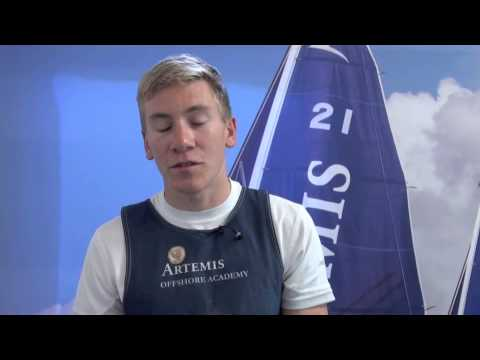 Will Harris on the Artemis Offshore Academy Selection Trials