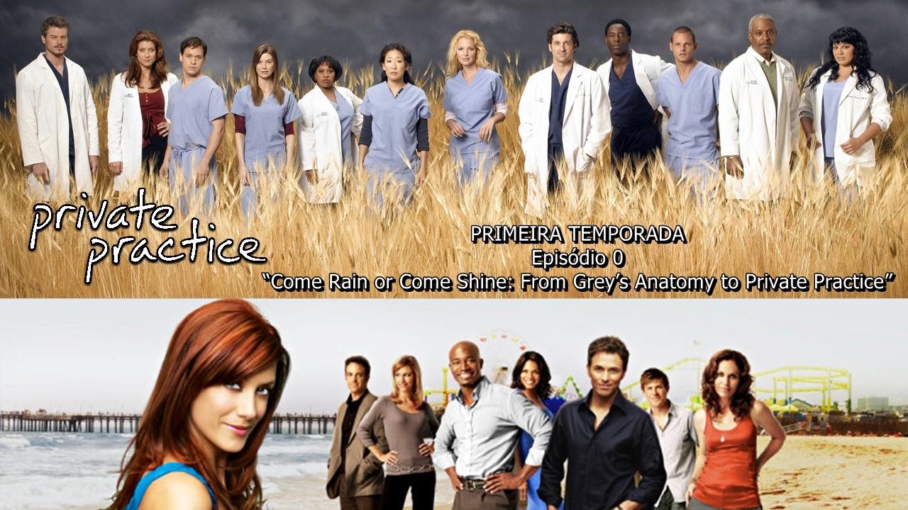 15 Temporada De Grey's Anatomy Assistir private practice: temporada 1 - episódio 0 (legendado).