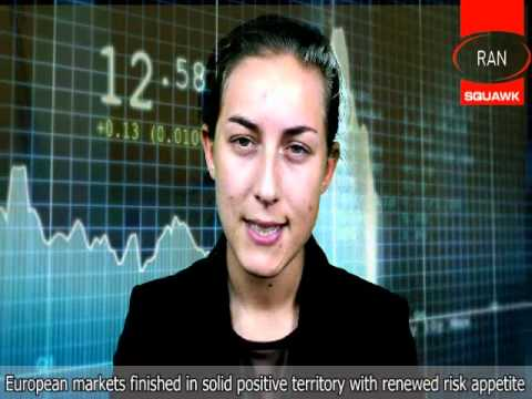 RANsquawk US Afternoon Briefing - Stocks, Bonds, FX -- 10/10/11