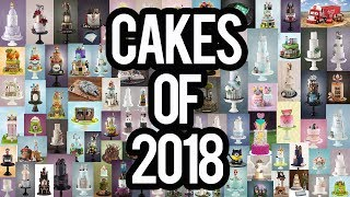 Favourite Cakes of 2018 | Little Cherry Cake Company | Compilation