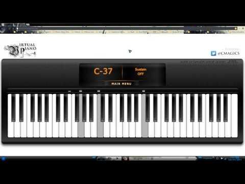 Virtual Piano: Como tocar Titanic en Virtual Piano