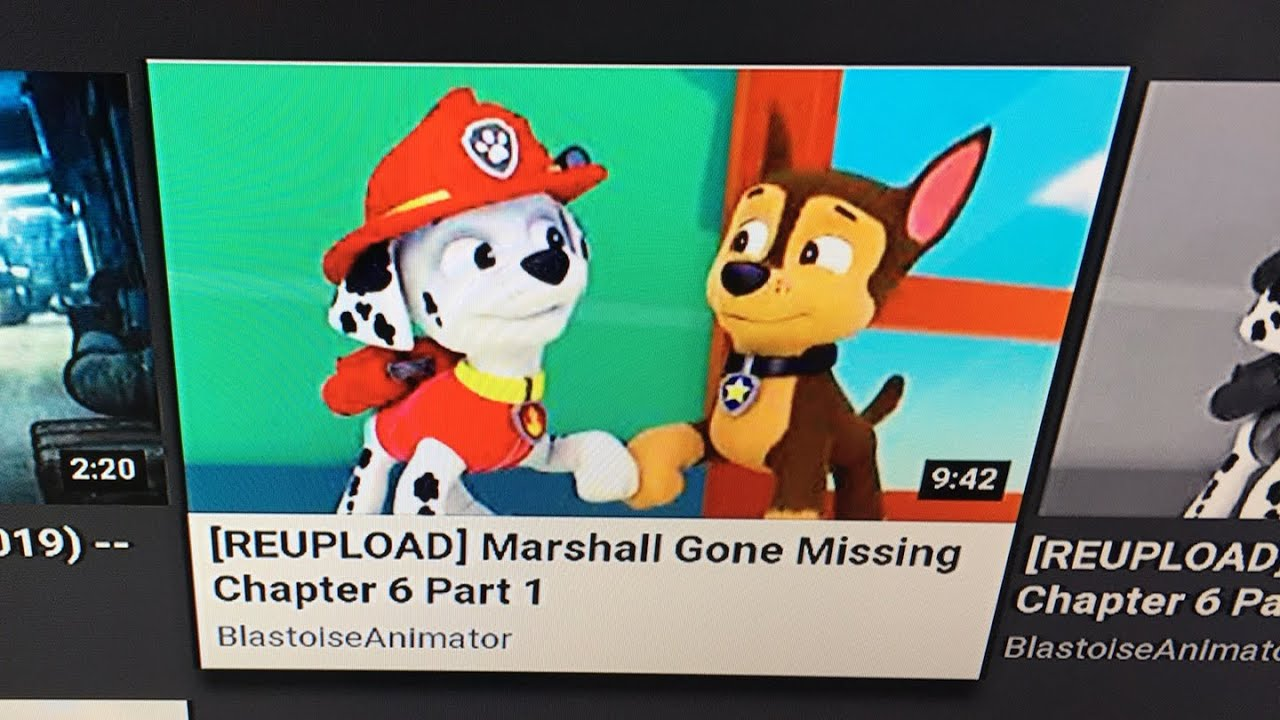 Marshall goes missing (paw patrol fanfiction) chapter 6 part 1
