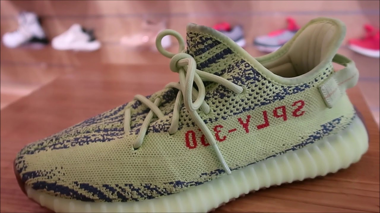 98167507a ADIDAS YEEZY 350 SEMI FROZEN YELLOW SNEAKER BY KANYE WEST SOLD OUT !   Sneakerhead  Yeezy