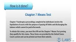 chapter 7 means test