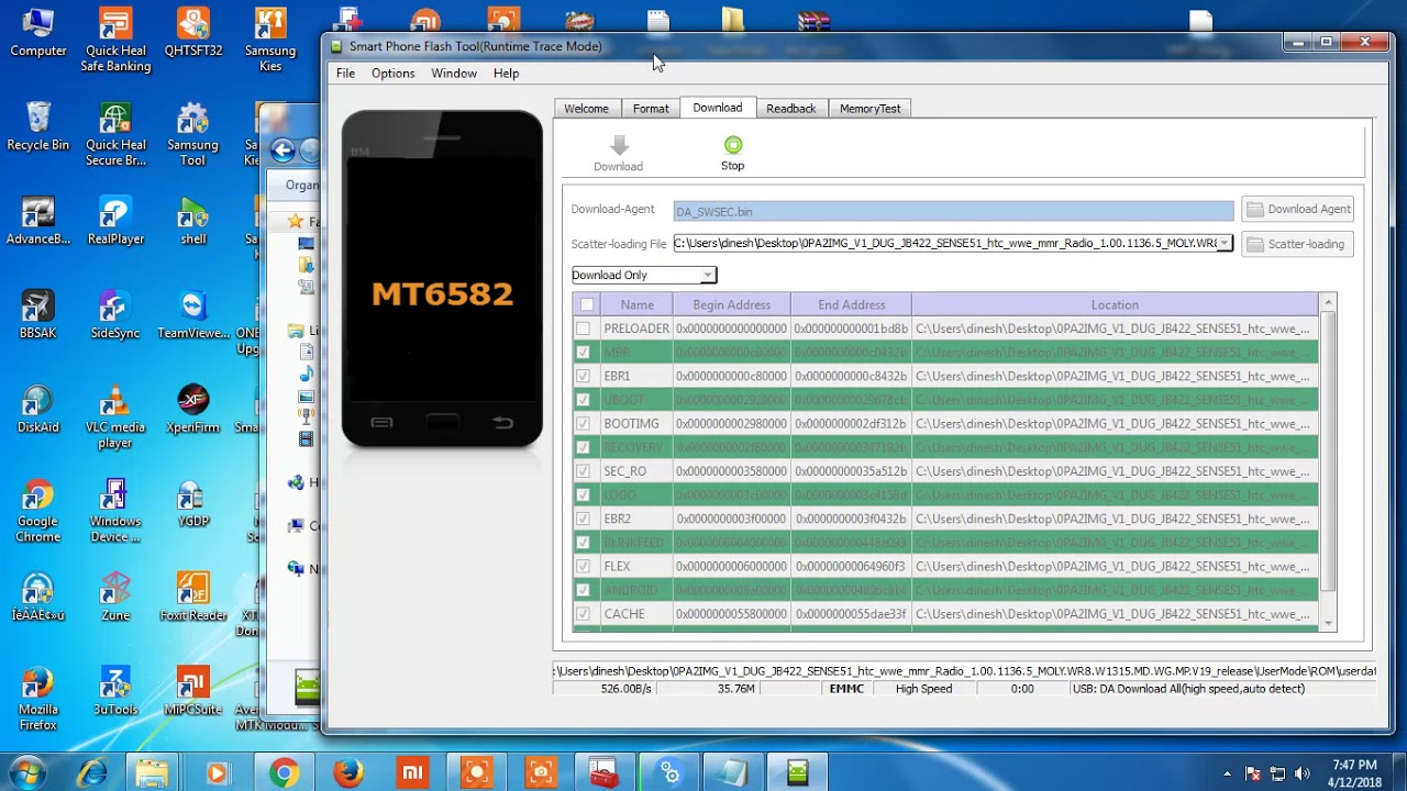 Htc desire 310 opa2210 hang logo dead recovery firmware flash file.